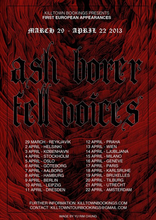 ash-borer_fell-voices_tour