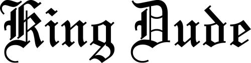 king-dude-logo
